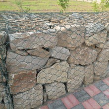 factory low price for Gabion Basket Mattress Hex Fabric Gabion Box Mesh supply to Spain Supplier