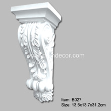 China Gold Supplier for Decorative Brackets For Shelves,Pu Decorative Corbels Leading Exporter Decorative Polyurethane Lunetta Corbel export to Japan Exporter