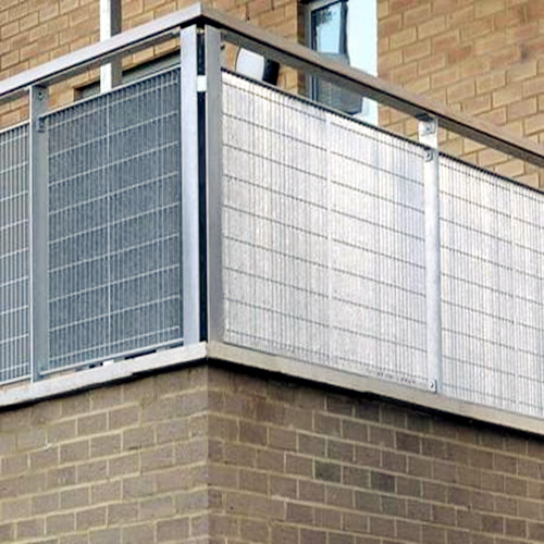 Steel Bar Grating Balcony Fences