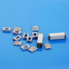Square 96% Alumina Metallized Ceramic Tube