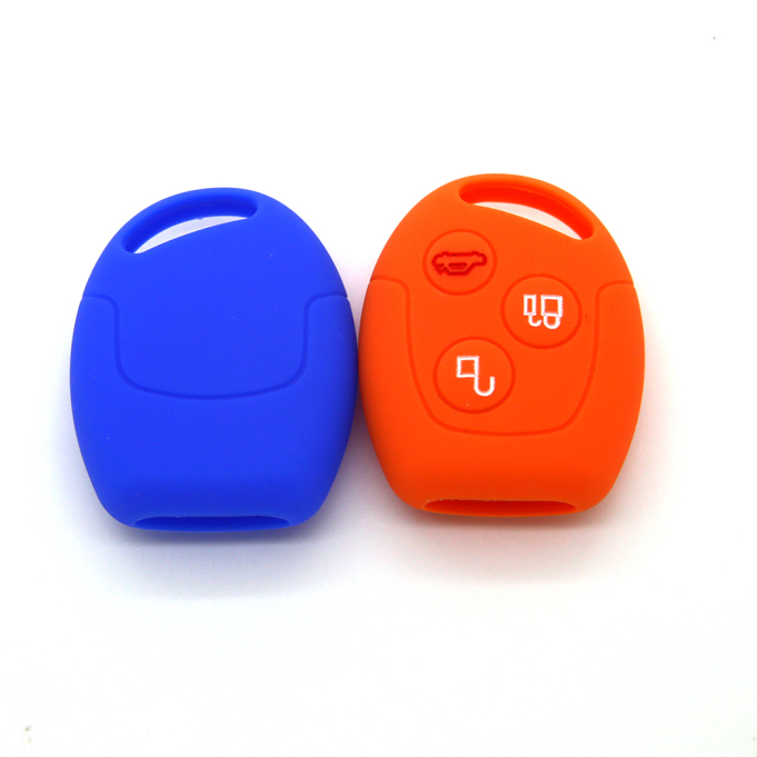 Ford 3 Buttons Silicone Protect Case