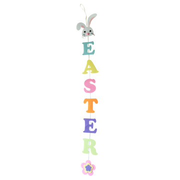 Easter party decorations bunting banner