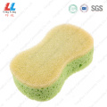Large mix color car sponge cleaning