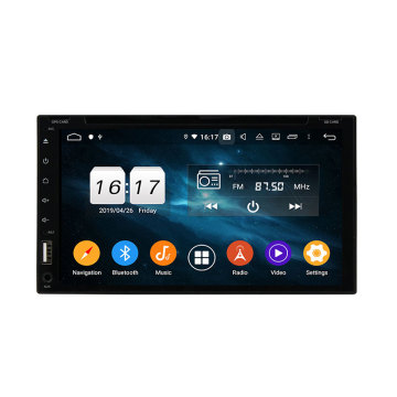 "Android double din 6.95"" universal car dvd player"