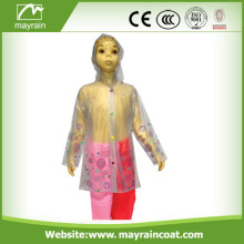 Fashion PVC Raincoat for Kids
