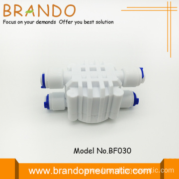 Four Way Food Grade Pom Shut Off Valve