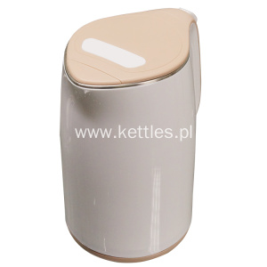 Super Purchasing for  Cool touch white color kettle supply to Norfolk Island Manufacturers
