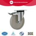 Plate Braked PP Industrial Caster