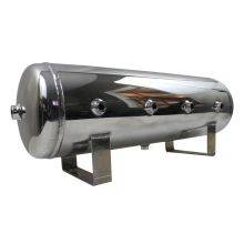 Polished Stainless Steel Fuel Tank