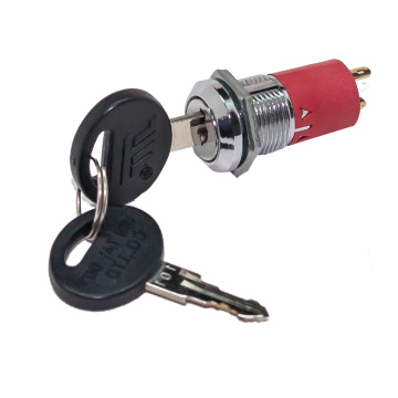 UL Certificated 16MM Electric Key Switches