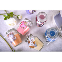 Color Clear Glass Candle