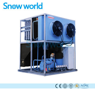 Snow world Plate Ice Machine Air Cooling