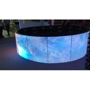 Flexible curved screen Indoor Advertising Board LED Module