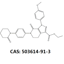 Leading for Apixaban Intermediates,Derivative of Apixaban Intermediate,Apixaban Ethyl Ester Impurity Manufacturers and Suppliers in China Apixaban intermediate cas 503614-91-3 supply to Mauritania Suppliers