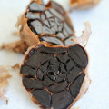 Black garlic is rich in vitamin C