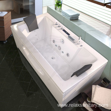 Rectangle Whirlpool Massage Bathtub