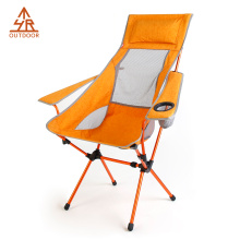 Outdoor Compact Chair camping with High Backrest