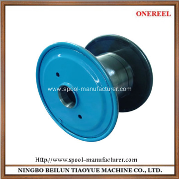Double flange empty pressed steel reel