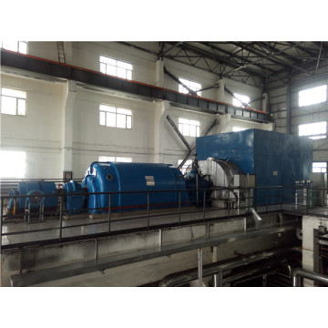 Steam turbine for waste heat power generation