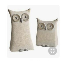 Best Quality for Animal Sculpture G617 granite owl couple export to Portugal Factories