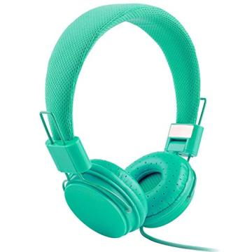 Headphones with Mic and Volume Control for PC