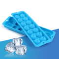Blue Silicone Ice Cube