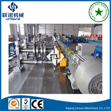 full auto slotted unistrut channel making machine