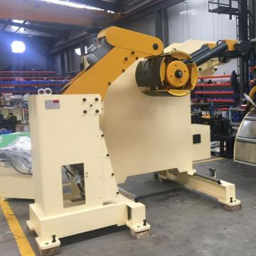 NC Servo Straightener feeder for brake pads stamping