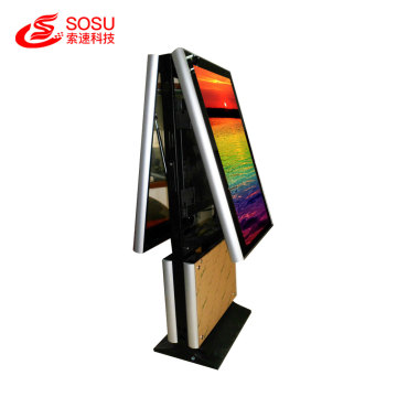 43 inch Dual Side display LCD Digital Signage