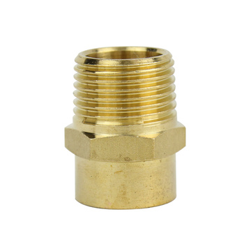 Brass Straight Connector Male-Cu