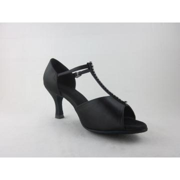 Bottom price for Ladies Latin Shoes Ladies satin latin dance shoes export to Wallis And Futuna Islands Importers