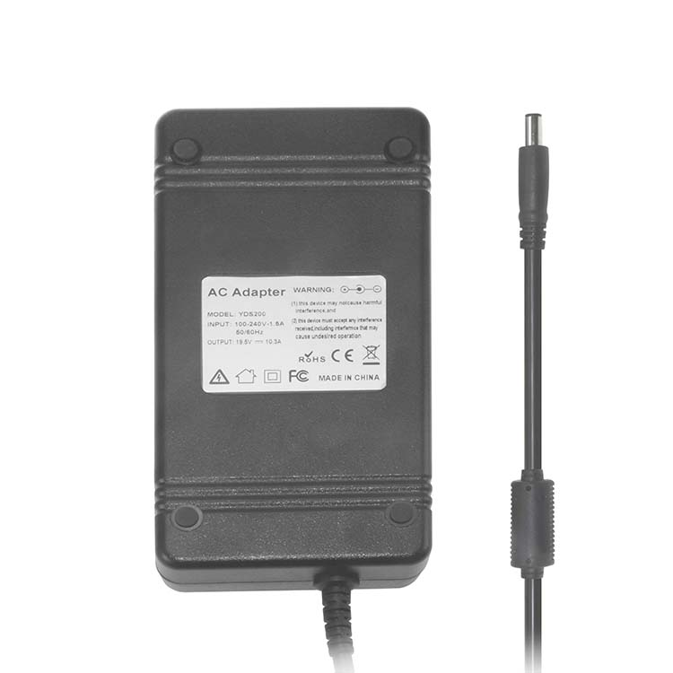 19.5V 10.3A laptop charger for hp