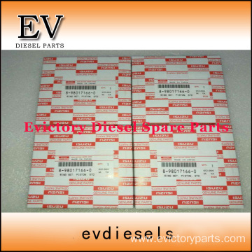 ISUZU engine parts piston 4KH1 piston ring
