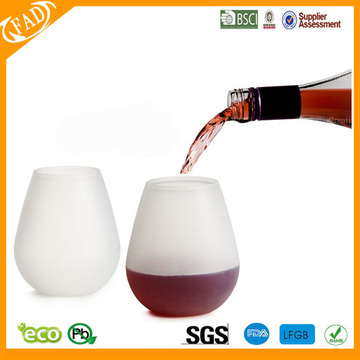 Best quality Low price for Wholesale Silicone Wine Glass,Customized Novelty Wine Glasses Flexible silicone Cups for Picnics and Outdoor Parties supply to Israel Factory