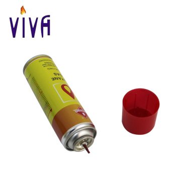Universal gas lighter refill