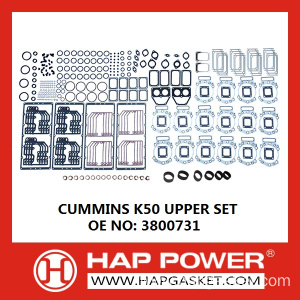 Cheapest Factory for Cummins Sealing Products K50 Upper Gasket Set export to Egypt Importers