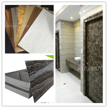 Good Quality for Pvc Ceiling Tiles With Marble Texture building materials marble pvc panel ceiling design export to Senegal Supplier