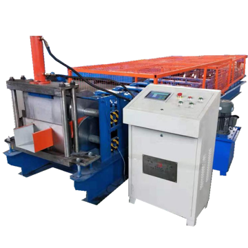 Fully automatic c purlin roof panel forming machine