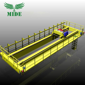10 ton double beam bridge crane