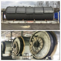 fuel from waste tires pyrolysis equipment