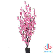 Indoor Decorative Artificial Peach Blossom Tree