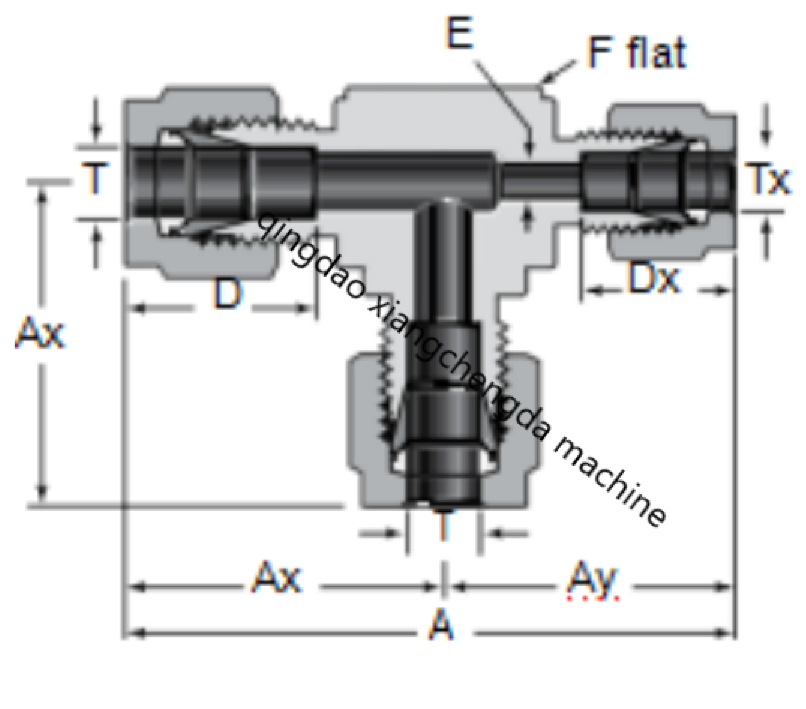 Tee Dss Reducer Drawing