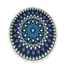 Mandala Beach Towel for adults