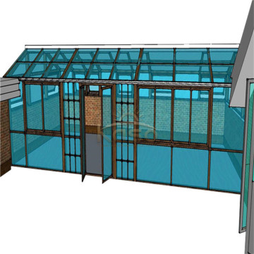Portable Sun Room Glass House Polycarbonate Sunroom