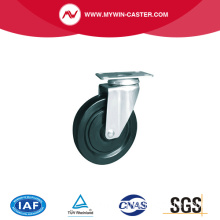 Plate Industrial Stainless Steel Caster Wheel