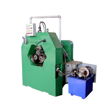 Automatic three-axis thread rolling machine