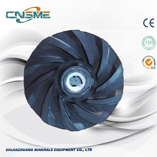 Slurry Pump Rubber Impeller