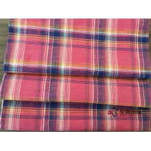 China for Bamboo Fibers Fabric Bamboo Cotton Yarn Dyed Plaid Fabric export to Singapore Manufacturers