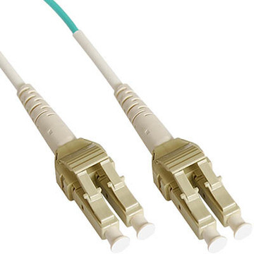 OM3/OM4 LC-LC Duplex Fiber Patch Cables with Unitboot