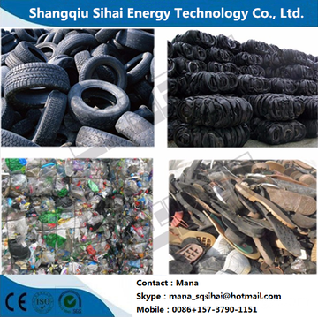 Waste plastic processing fule oil machinery